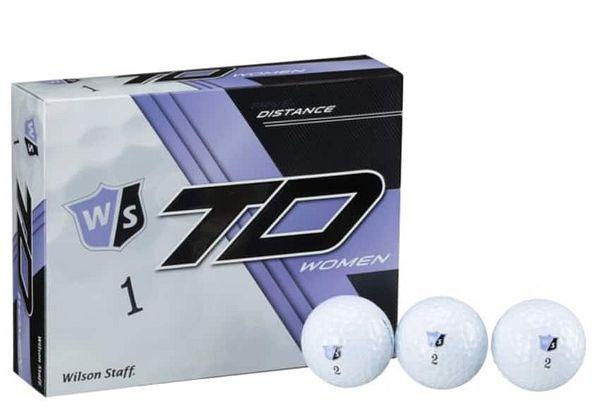 12 Pack Women's Wilson Staff True Distance Golf Balls @Walmart