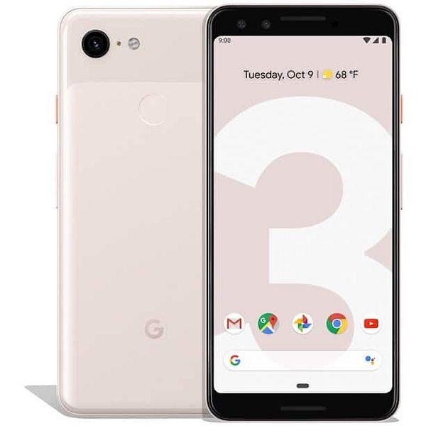 Google Pixel 3 Phone, 64 GB, Pink, $169.99