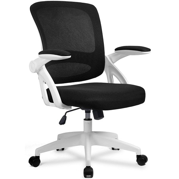 ComHoma Ergonomic Office Mesh Computer Chair w/ Flip Up Armrests, Lumbar Support for $76.49 + Free Shipping