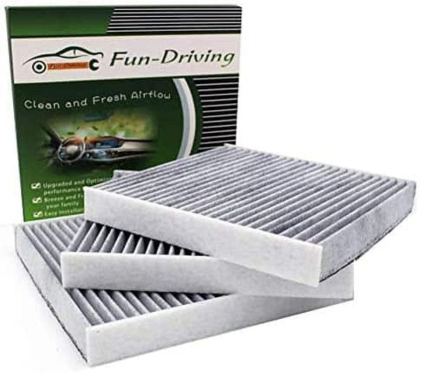 Amazon: Fun Driving Toyota FD157 Cabin Air Filter 3-Pack $8.49