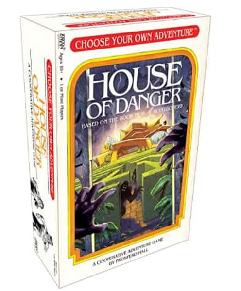 House of Danger - A Choose Your Own Adventure Strategy Board Game - $13.00 @ Amazon or Walmart