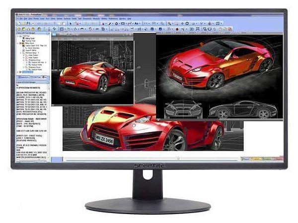 """SCEPTRE E248W-19203R 24"""" [1920 x 1080 Full HD 75Hz] Monitor"""