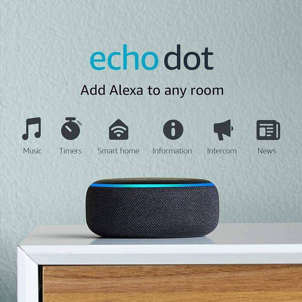 Echo Dot (3rd Gen) - $5 Smart speaker with Alexa - Charcoal: YMMV $4.99