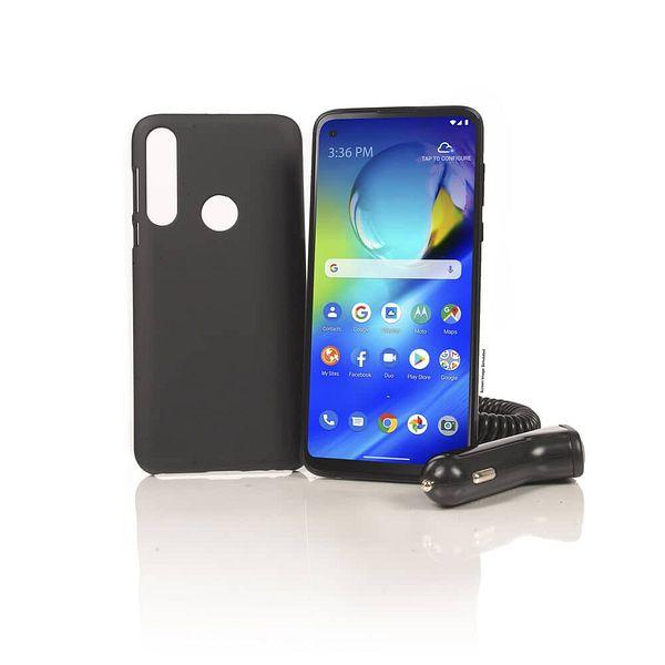 64GB Motorola Moto G Power Tracfone Smartphone + 1500 Minutes/Texts/Data