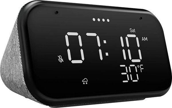 Lenovo Smart Clock Essential Soft Touch Gray ZA740005US - $29.99