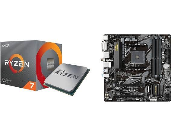@Newegg AMD RYZEN 7 3700X 8-Core 3.6 GHz (4.4 GHz Max Boost) Desktop Processor and GIGABYTE B550M DS3H AC AM4 AMD B550 SATA 6Gb/s Micro ATX AMD mobo