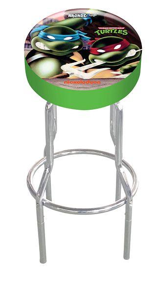 Arcade1Up Arcade Stool (Teenage Mutant Ninja Turtles) @Walmart