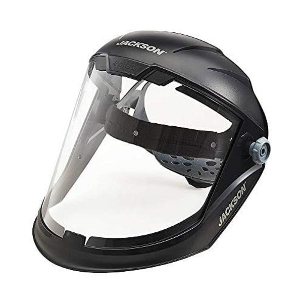 Jackson Safety Maxview Ratcheting Face Shield (Uncoated) @Amazon