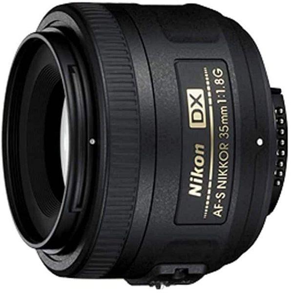 Nikon AF-S DX NIKKOR 35mm f/1.8G Camera Lens for Nikon F Mount