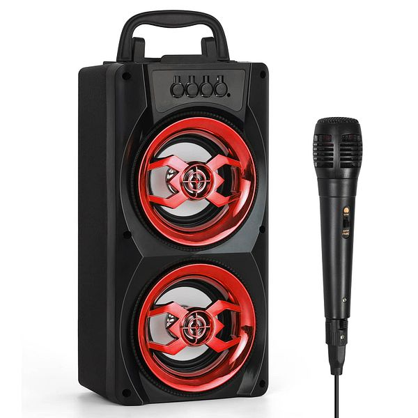 Portable Wireless Bluetooth Speakers Subwoofer for Party $13.97