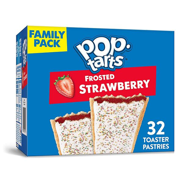 32-Ct Pop-Tarts Breakfast Toaster Pastries Frosted Strawberry
