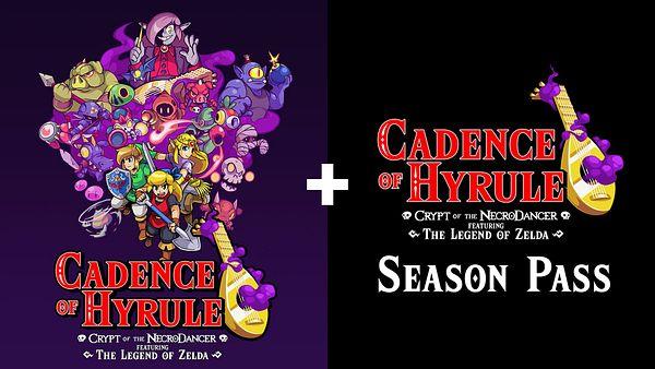 Cadence of Hyrule: Crypt of the Necro Dancer Featuring The Legend of Zelda Season Pass Bundle - Nintendo Switch Digital Download - $23.59 @ Walmart