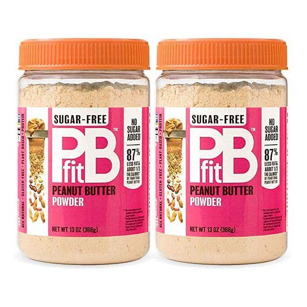 Pack of 2 PBfit Sugar-Free Peanut Butter Powder, 13 Ounce @Amazon