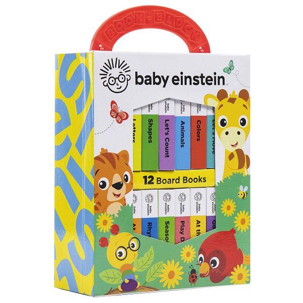 Baby Einstein My First Library 12 Book Set (Board Book)