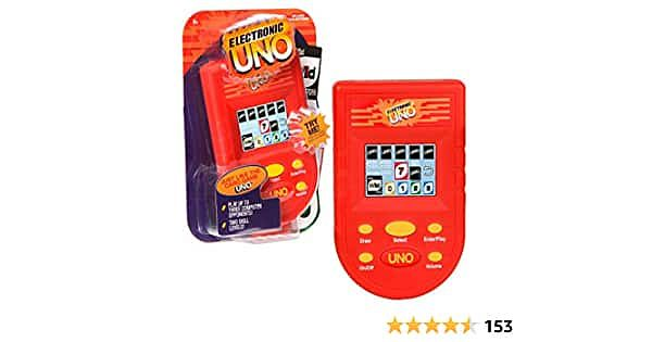 UNO Electronic Handheld Game