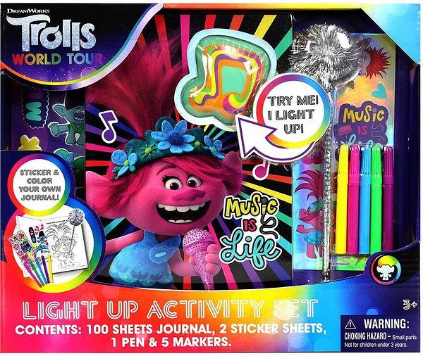 Trolls World Tour Light Up Activity Set