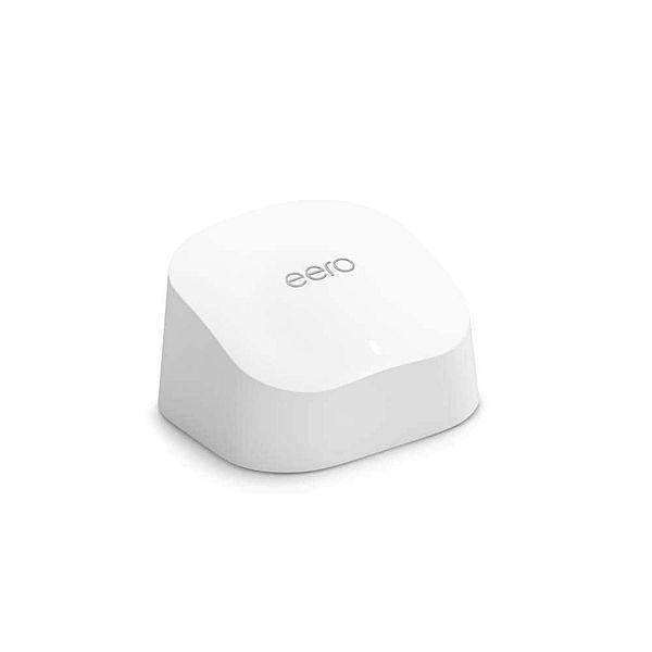 Amazon Prime Members: Amazon eero 6 Dual-Band Mesh Wi-Fi 6 Router w/ Built-In Zigbee Smart Home Hub $83 + Free Shipping via Amazon