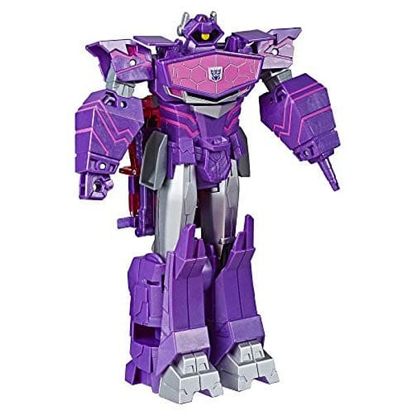 """9"""" Transformers Toys Cyberverse Ultimate Class Shockwave Action Figure"""