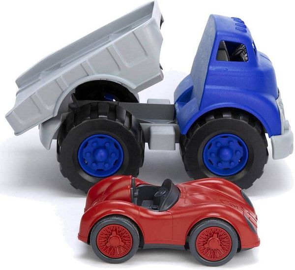 Green Toys Flatbed Truck & Race Car $8.31 + FS w/ Prime or orders of $25+