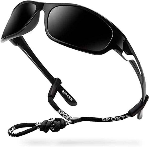 Bircen Polarized Sport Sunglasses UV Protection for Men Women (Various Colors)
