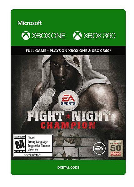 Fight Night Champion (Digital Xbox 360/Xbox One Code)