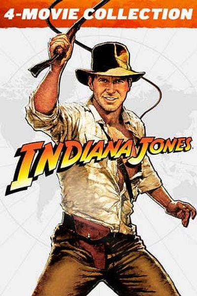 Indiana Jones 4-Movie Collection (4K UHD Digital Films) @FandangoNow