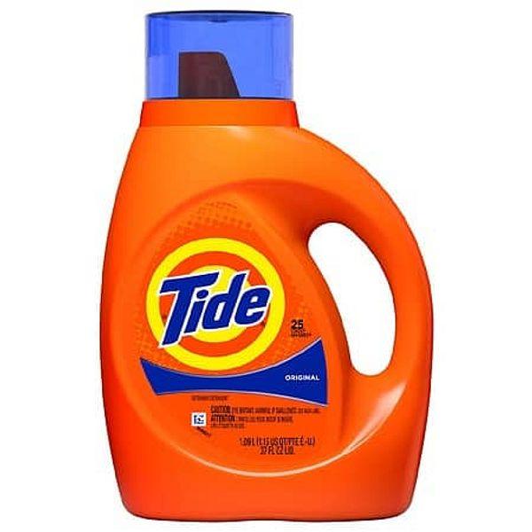Walgreens: 37-oz Tide Liquid Laundry Detergent (Ultra Oxi, Original & More) & Pods