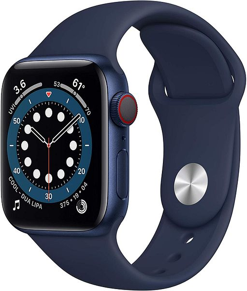 Apple Watch Series 6 40 mm (GPS + Cellular) @Amazon