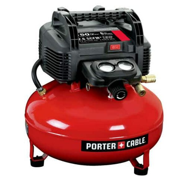 CHEAPEST-  NEW Porter-Cable C2002 0.8 HP 6 Gallon Oil-Free Pancake Air Compressor