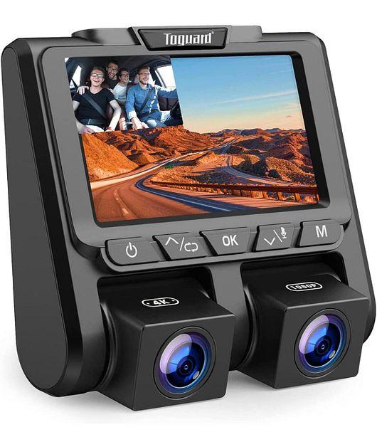 TOGUARD 4K Dual Dash Cam for Cars