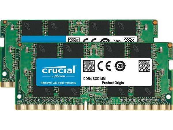 32GB (2x 16) Crucial DDR4 3200 SO-DIMM Laptop RAM kit @Newegg