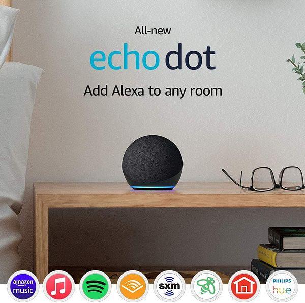 Two Echo Dots (4th Gen)