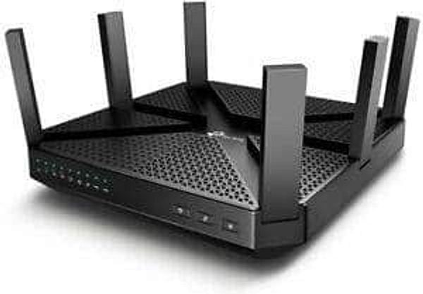 Refurbished TP-LINK Archer AC4000 MU-MIMO Tri-Band 4 Port WiFi Router C4000