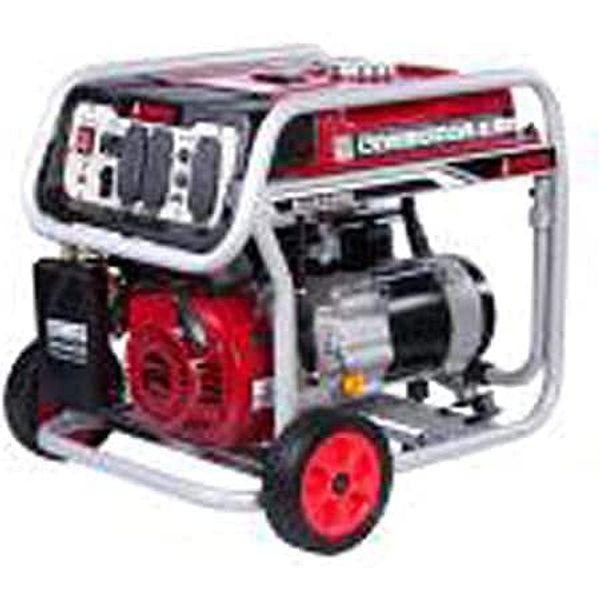 A-iPower SUA4500 4500 Watt Portable Generator Gas Powered Wheel Kit Included, Rated Watt/3500 Running, EPA/CARB complied