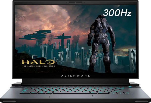 """Alienware m15 R4 15.6"""" FHD Gaming laptop  Intel Core i7 16GB Memory NVIDIA GeForce RTX 3070 512GB Solid State Drive Dark Side of the Moon AWM15R4-7726BLK-PUS - Best Buy $1849.99"""