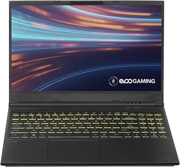 EVOO Gaming Laptop EG-LP10-BK: 15.6'' FHD IPS, i5-10300H, GTX 1650, 8GB DDR4, 256GB PCIe SSD, Win10H