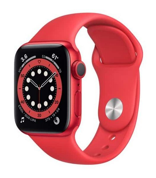 Apple Watch Series 6 GPS, 40mm $279.00, free 1-day shipping $278.98