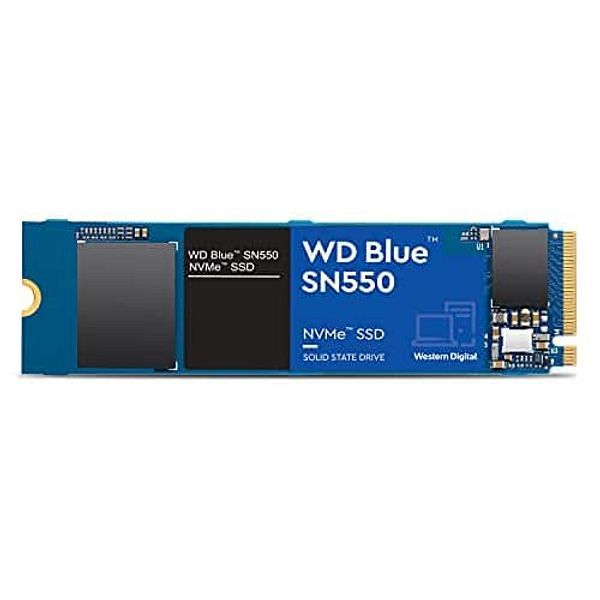 Prime Members: 1TB WD Blue SN550 NVMe PCIe M.2 2280 Solid State Drive SSD