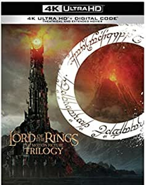 The Lord of the Rings Trilogy (4K Ultra HD + Digital)