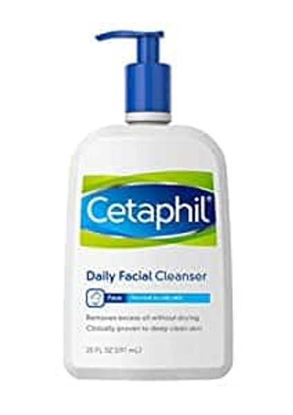 Prime Members: 20-Oz Cetaphil Daily Facial Cleanser or Face Wash