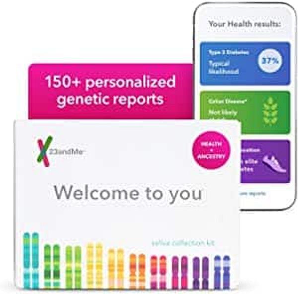Prime Members: 23andMe Health + Ancestry Service
