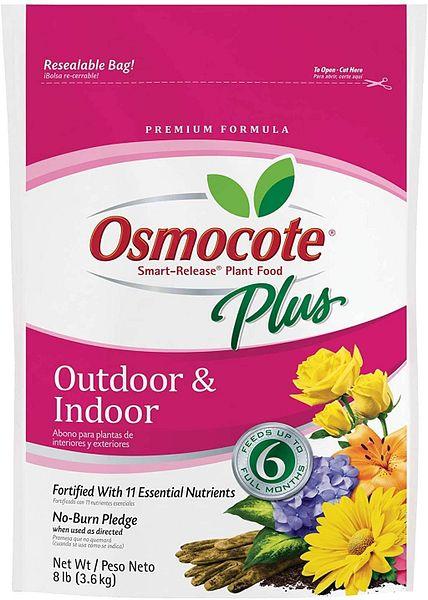 Osmocote Smart-Release Plant Food Plus Outdoor & Indoor, 8 lbs: Garden & Outdoor