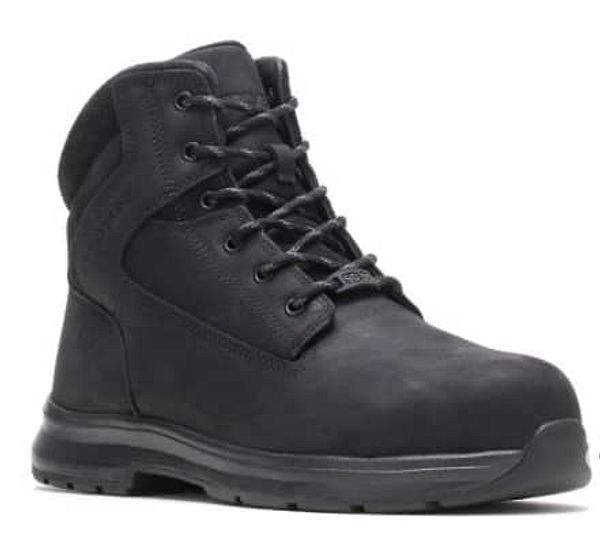 """Wolverine Men's Logan ESD Steel Toe 6"""" Boots (black or brown) $60 + Free Shipping"""