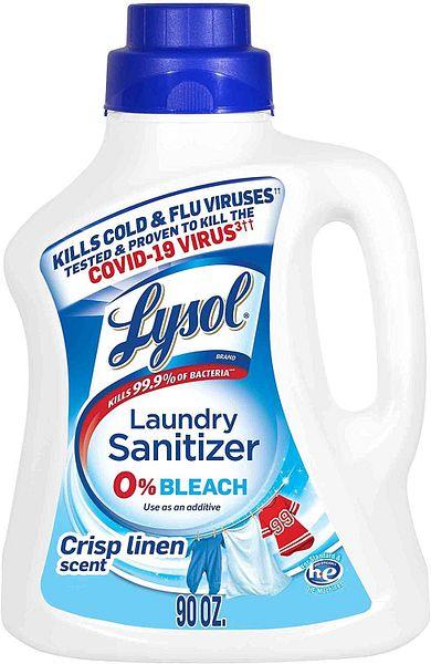 41-Oz Lysol Laundry Sanitizer Additive (Crisp Linen)