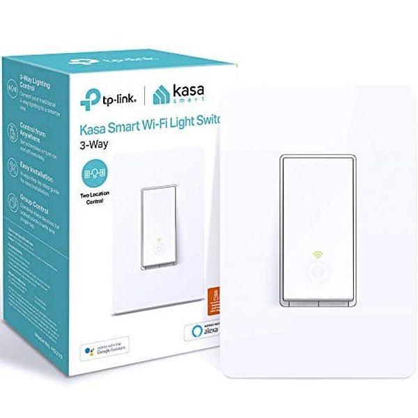 Kasa Smart 3-Way Wifi Light Switch HS210