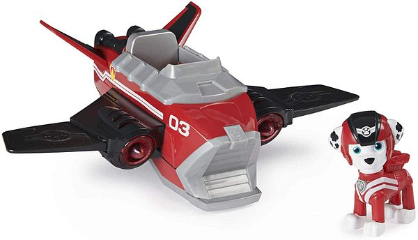 Paw Patrol Jet to the Rescue Marshall's Deluxe Transforming Vehicle (Red) $8.85 + Free Shipping w/ Prime or on $25+