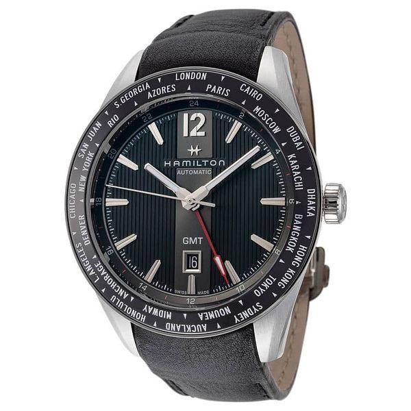 Hamilton Broadway Automatic GMT Watch (Strap or Bracelet)