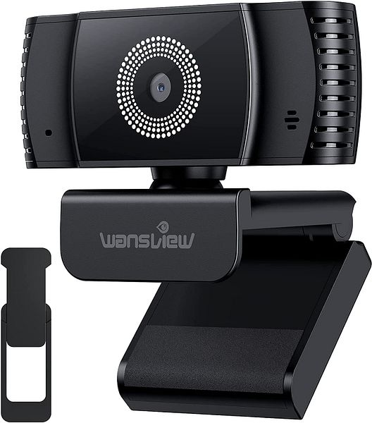 Amazon - Wansview 2021 AutoFocus 1080P Webcam (106) with Microphone & Privacy Cover $5.10