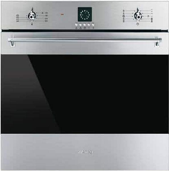 Smeg SF399XU Classic Series 24 Inch  Electric Single Wall Oven