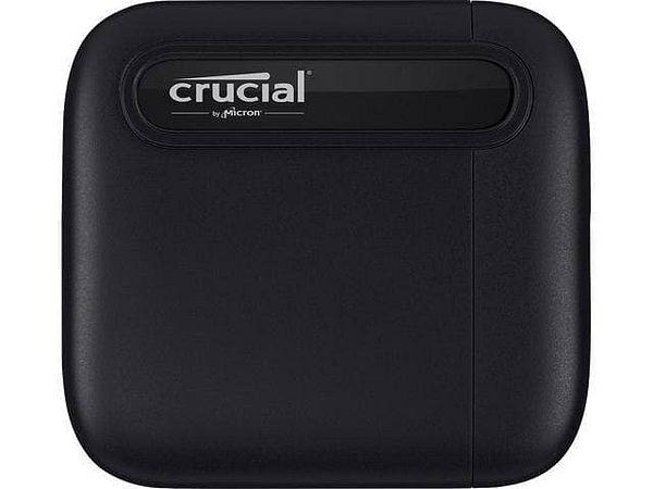 Crucial X6 1TB External SSD [USB 3.2 Gen 2, Type-C, up to 540 MBps]